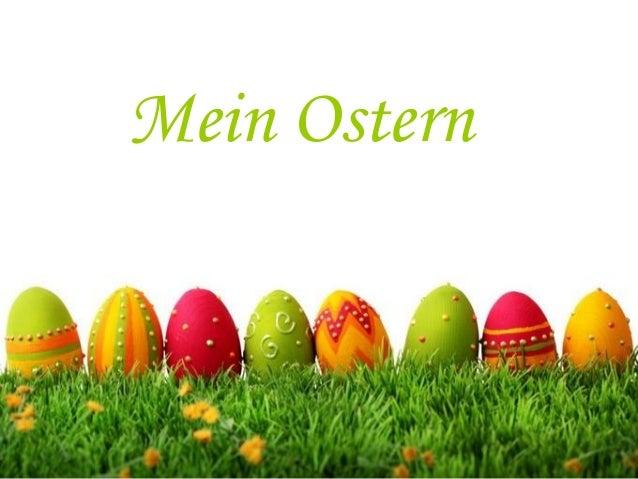 Mein Ostern
