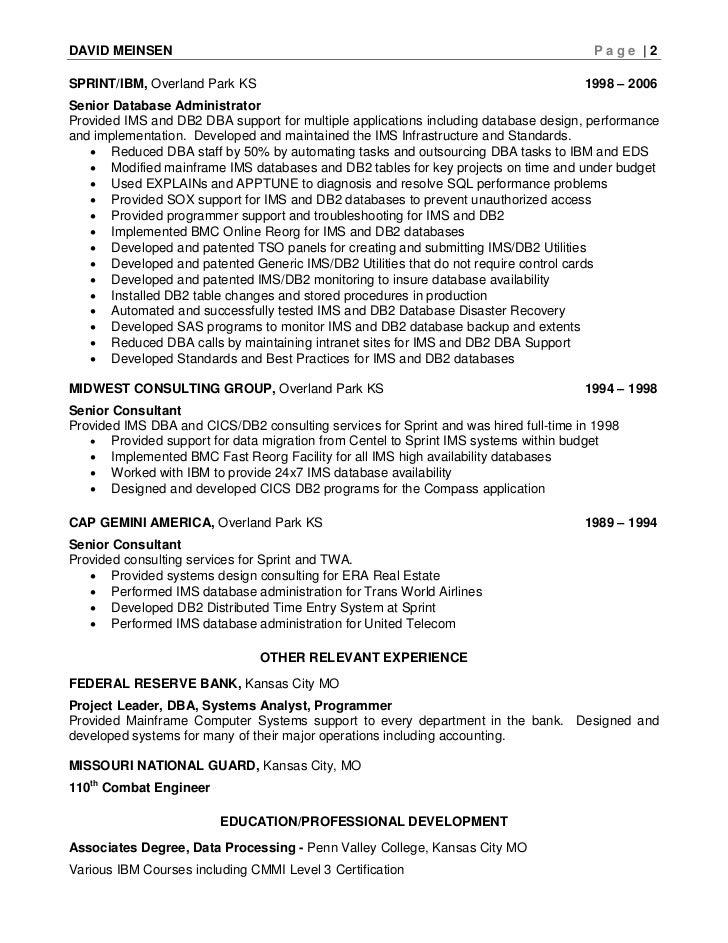 active directory resume active directory resume network