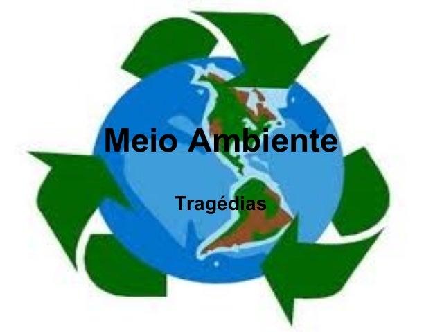 Meio Ambiente Tragédias