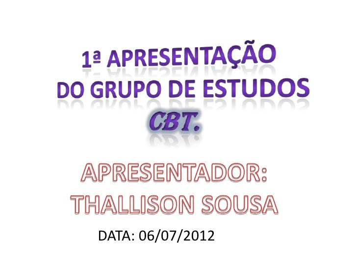 DATA: 06/07/2012
