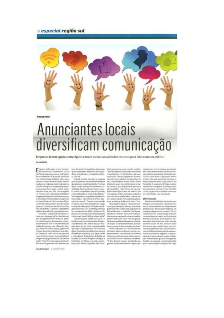 Revista Meio&Mensagem - Especial Região Sul