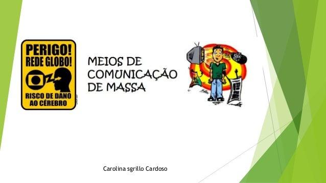 Carolina sgrillo Cardoso