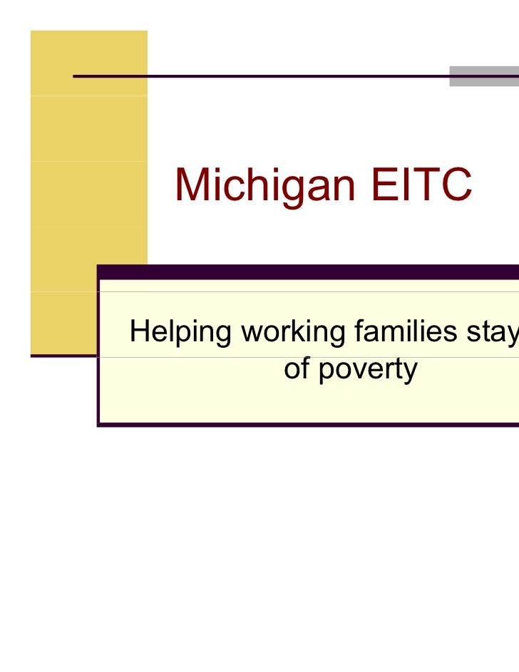 Michigan League                                    FOR                               Human Services   Michigan EITCHelping...
