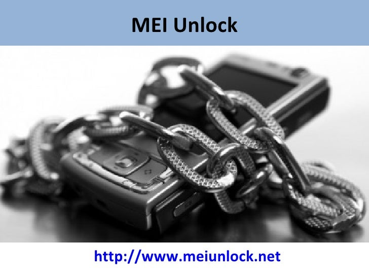 MEI Unlock - Use Any Network on your Smartphone without