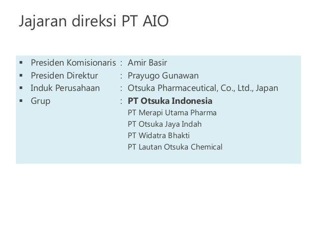 Andi _ - Technical Support - PT. Lautan Otsuka Chemical ...