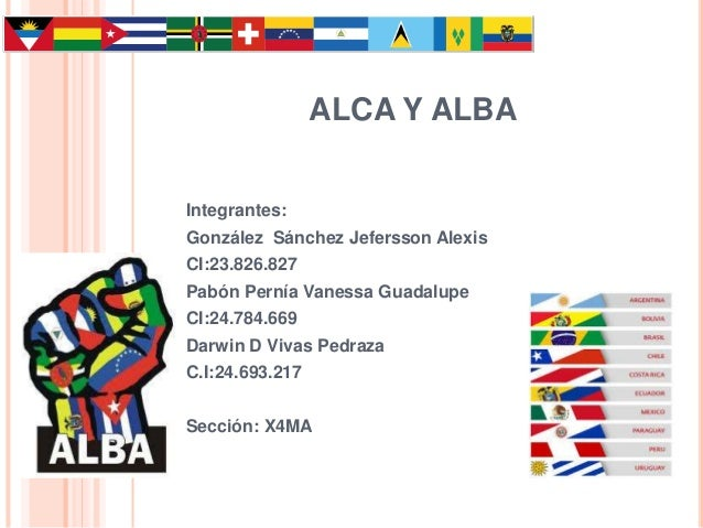 Mejorando alca vs alba for Grupo alca