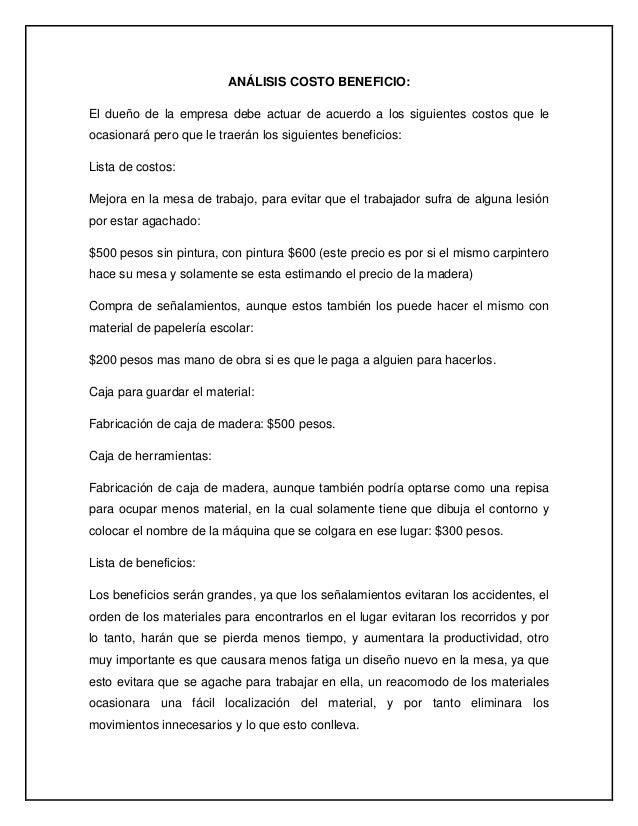 Perfecto Plantilla De Propuesta De Costo Festooning - Colección De ...