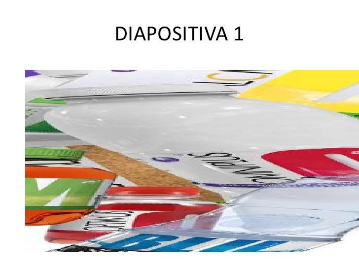 DIAPOSITIVA 1<br />