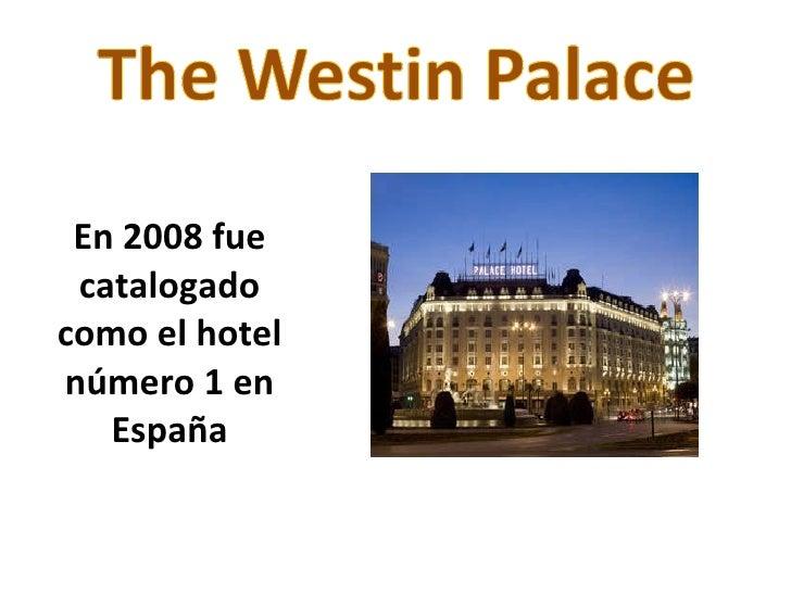 Mejores hoteles de madrid for Hoteles de superlujo en espana