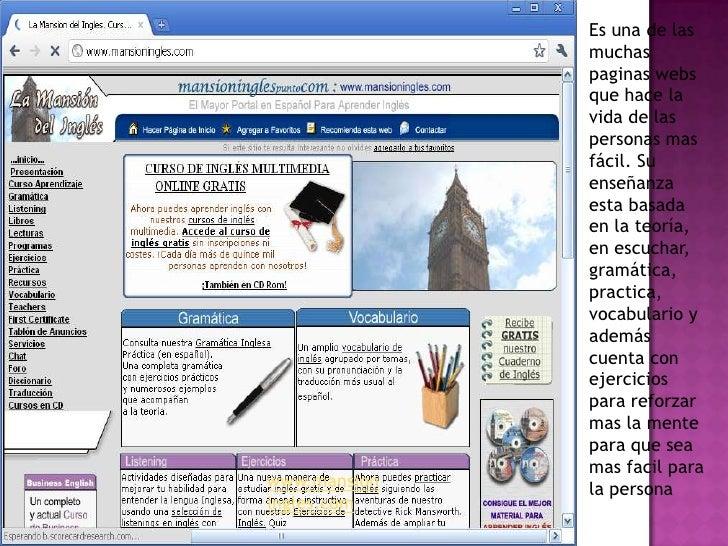 Mejores paginas para aprender ingles gratis y facil
