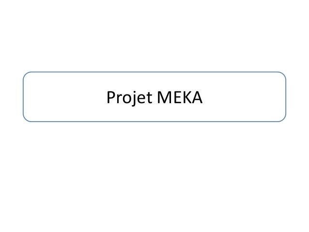 Projet MEKA