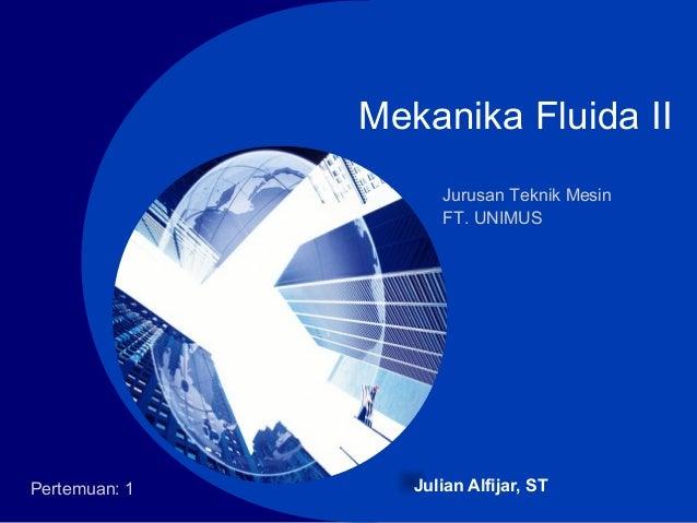 Mekanika Fluida Pdf