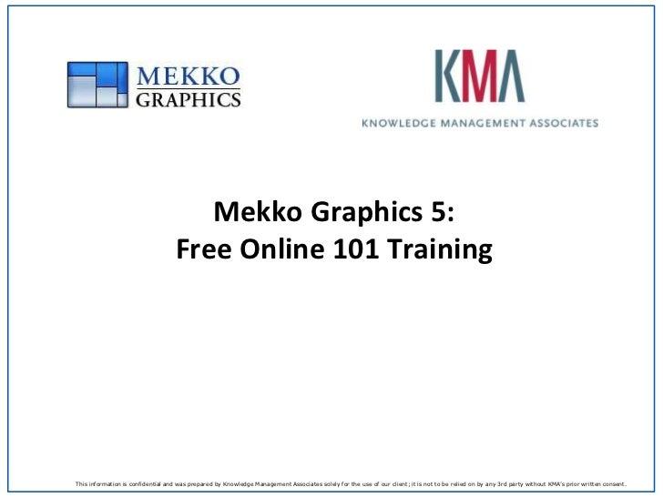 Mekko Graphics 5: Free Online 101 Training<br />