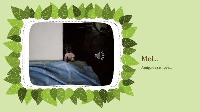 Mel... Amiga de sempre...