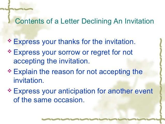 Upload 4 sample 2 a letter declining stopboris Gallery