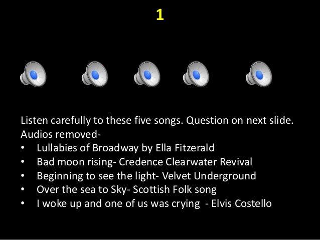Broadway Audios