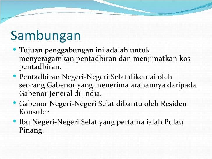 Melaka Nnm Negeri Selat