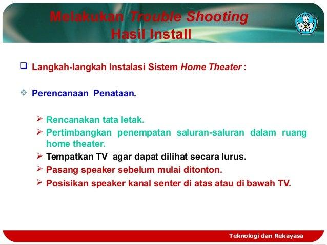 Melakukan trouble shooting Slide 2