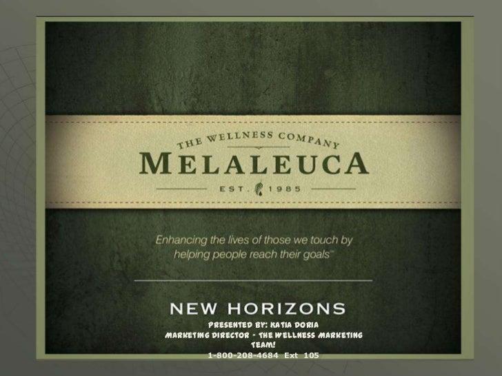 Melaleuca The Wellness Company