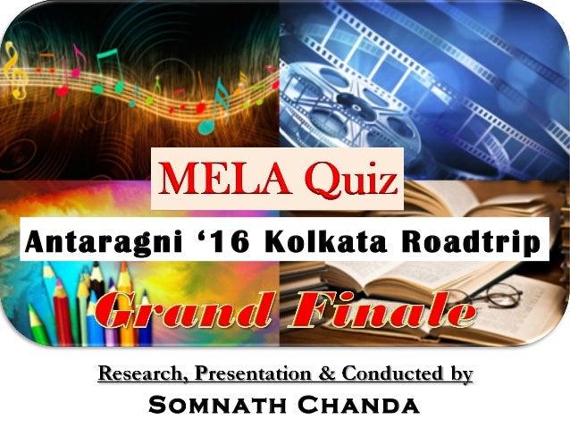 Antaragni '16 Kolkata Roadtrip Somnath Chanda