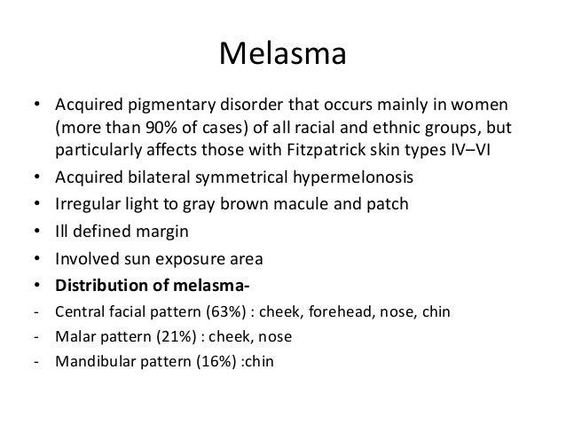 Melasma treatment Slide 2
