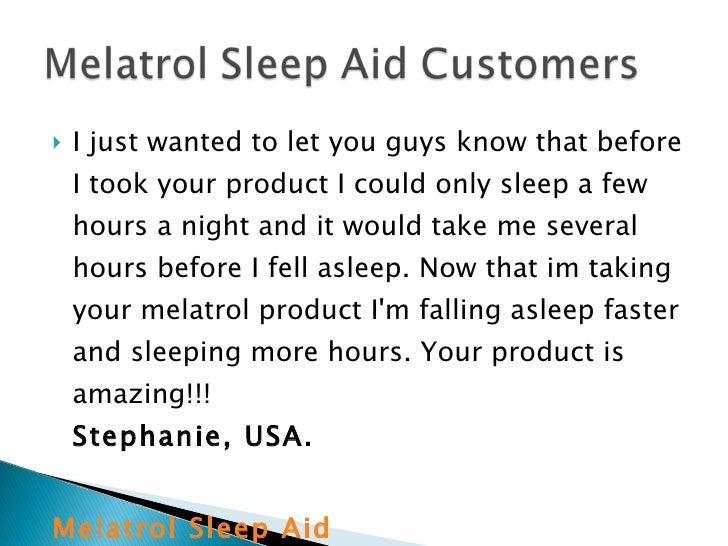 Melatrol Sleep Aid Melatrol Natural Sleep Aid