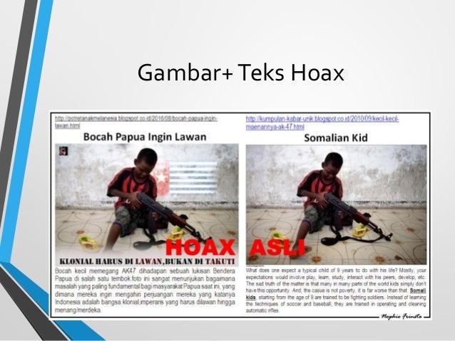 Gambar+Teks Hoax