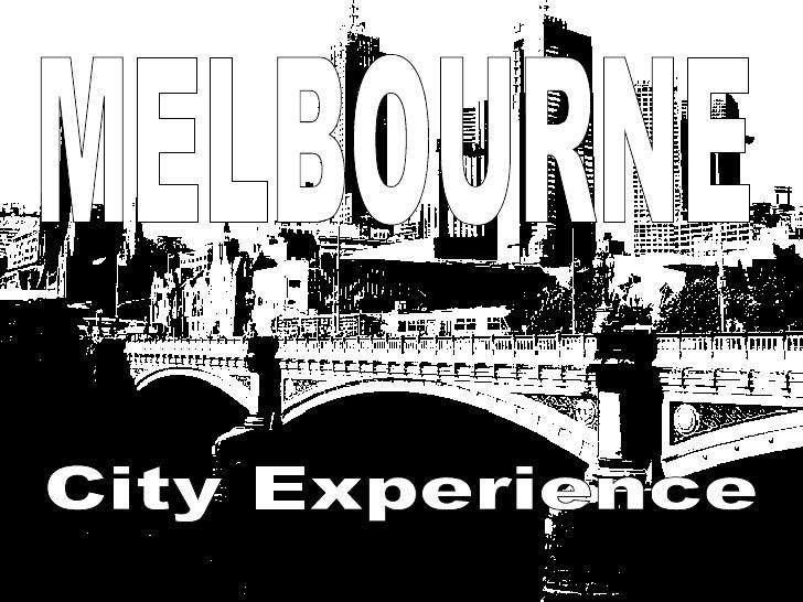 MELBOURNE City Experience