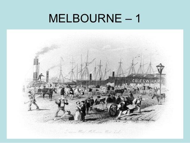 MELBOURNE – 1