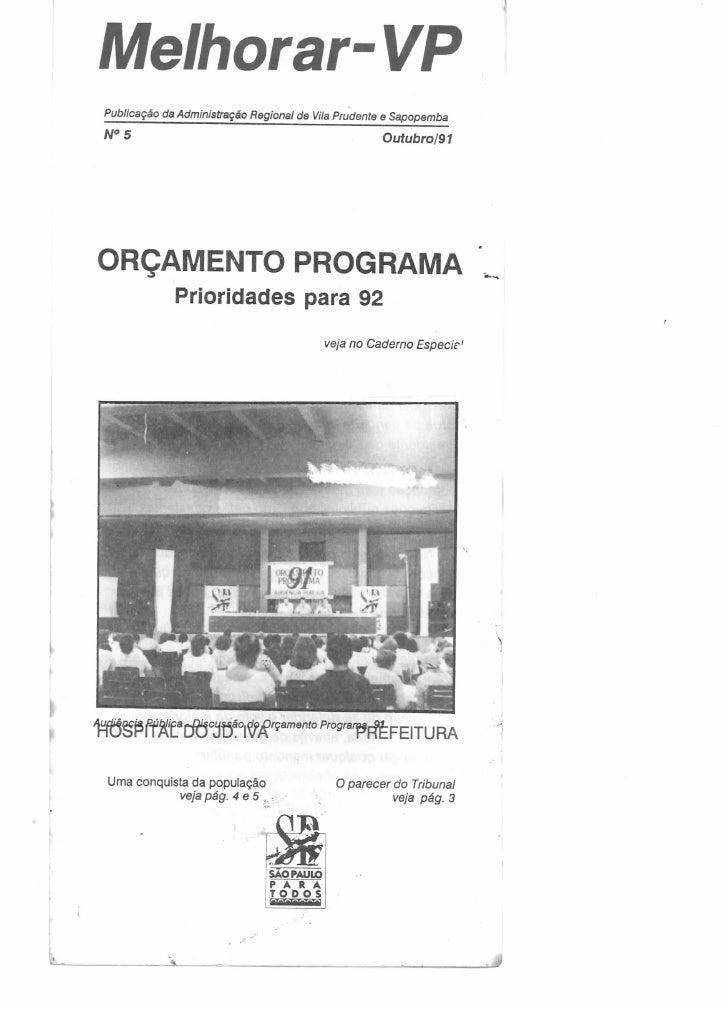 Melhorar VP número 05 - Outubro de 1991