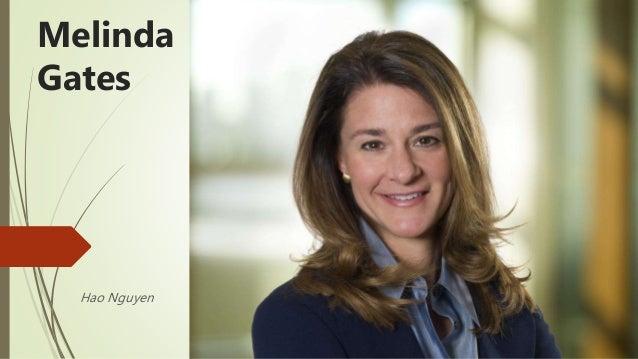 Hao Nguyen Melinda Gates