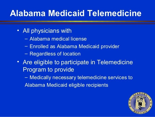 How is Medicaid eligibility determined in Alabama?