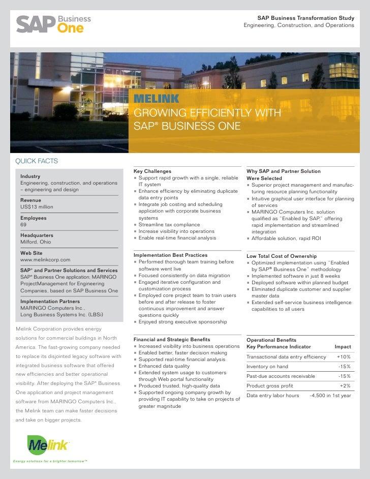 SAP Business Transformation Study                                                                                         ...