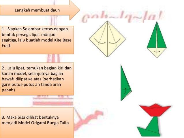 Melipat origami ppt lpat bagian bungan yang lancip dibawah 6 langkah membuat ccuart Image collections