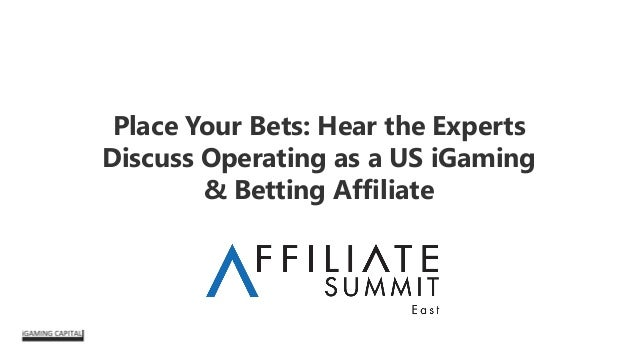 Place Your Bets: Hear the Experts Discuss Operating as a US iGaming & Betting Affiliate