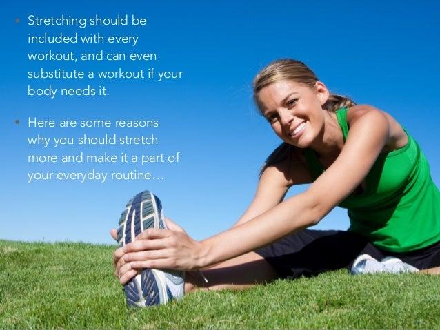 Melissa Keroack: Why You Should Stretch Slide 3