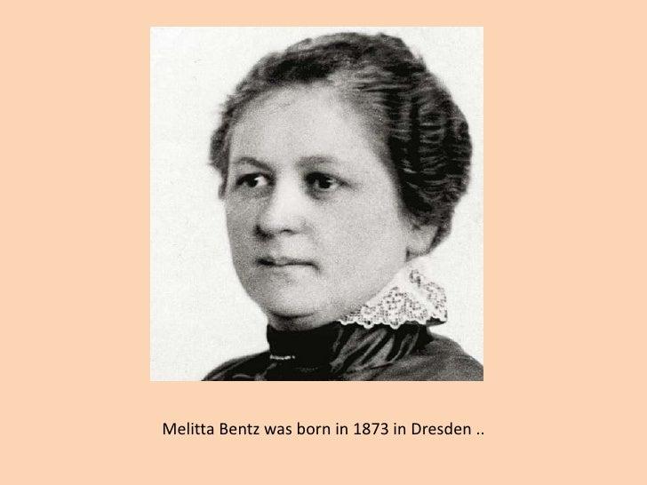 MelittaBentz Was Born In 1873 Dresden