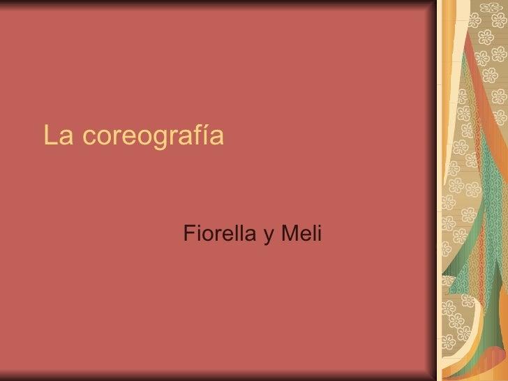La coreografía Fiorella y Meli