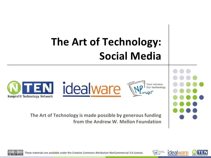 Art of Technology: Social Media
