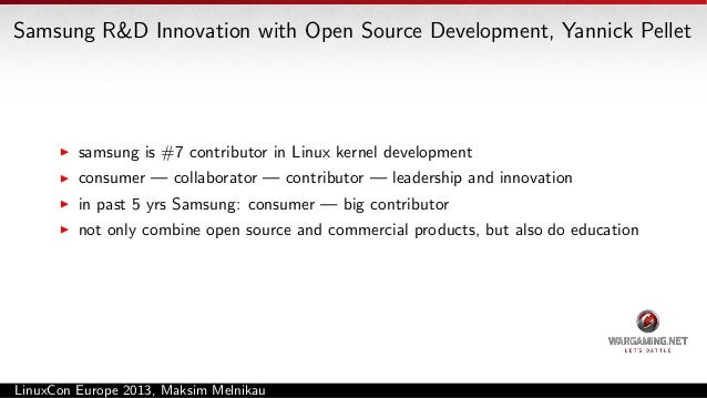 Linux Kernel Developer Panel no separate scheduler per arch, even for arm all the work that enterprise systems did has hel...