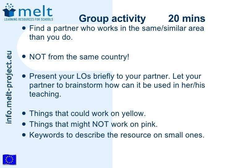 Aera Is There Summer Melt For Social >> Melt Summer School Socialsoftware And Metadata