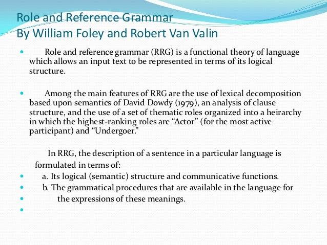 the theory of functional grammar dik pdf