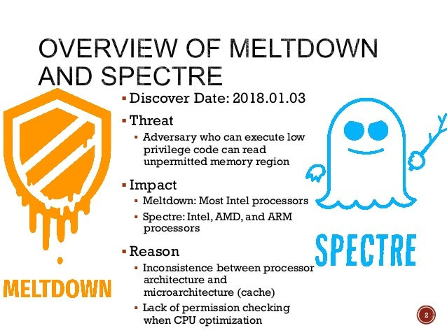 【HITCON FreeTalk 2018 - Spectre & Meltdown 漏洞原理說明與 POC 剖析】 Slide 2