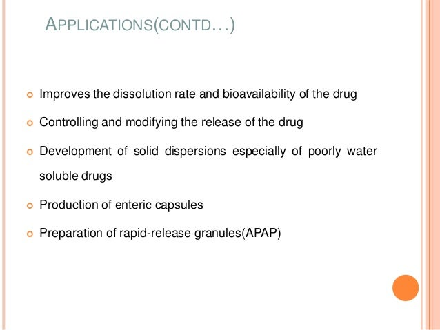 Solid dispersions as strategy to improve oral bioavailability of poorly water soluble drugs