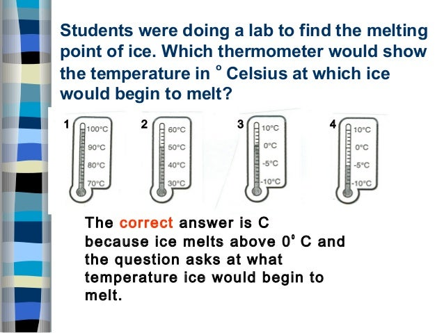 freezing melting lab The phase of the matter at a specific temperature and pressure is a physical property of that matter in this lab, you will observe melting and freezing.