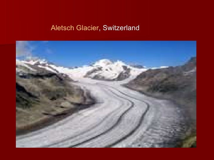 an analysis of glaciers This study aims to improve our understanding of glacial vulnerability to climate change to establish adaptation strategies a glacial numerical model is developed using spatial principle component analysis (spca) supported by remote sensing (rs) and geographical information system (gis) technologies the model.
