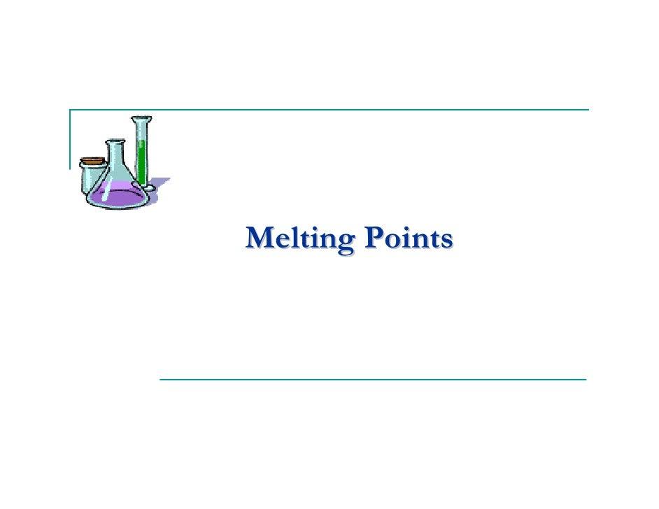 Melting Points