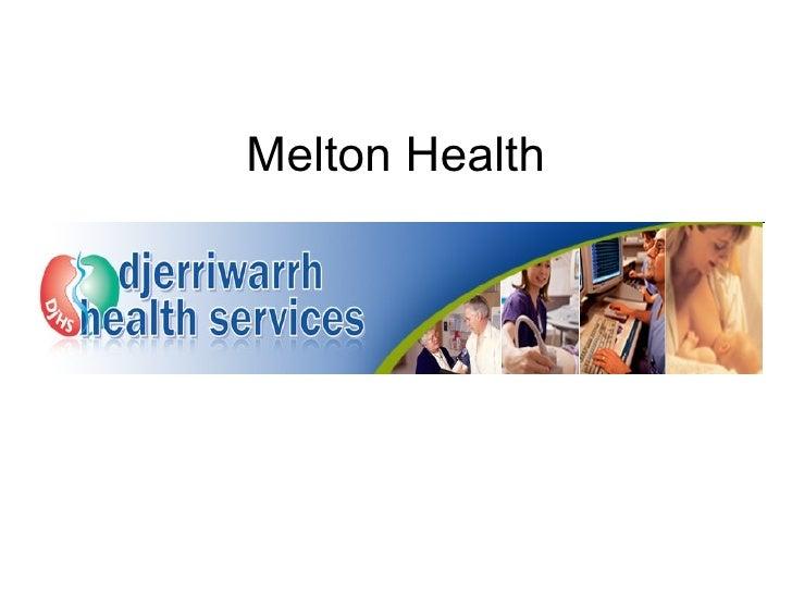 Melton Health