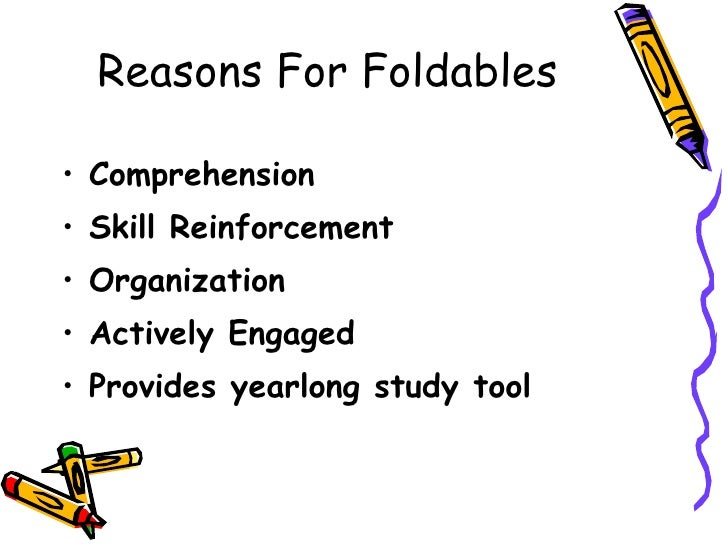 Foldables: A Tool for Success