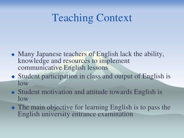 English as an International Language in Japan